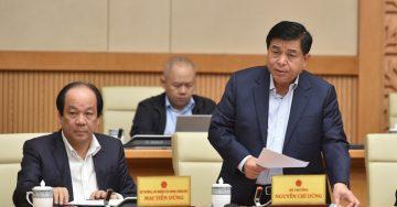 Bộ trưởng Nguyễn Chí Dũng phát biểu