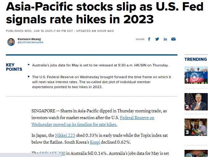 Thị trường tài chính, chứng khoán biến động mạnh.